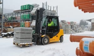 Prepare for Winter with Scot Truck Forklifts