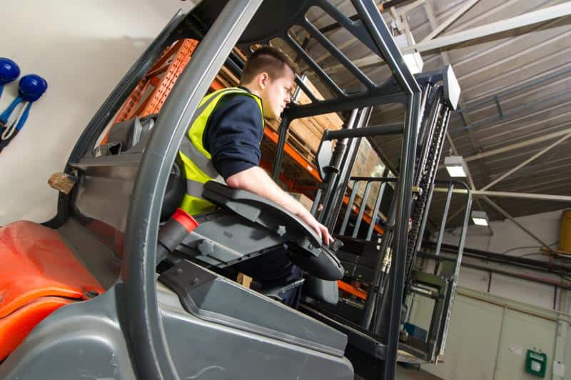 driver training from scot truck forklifts