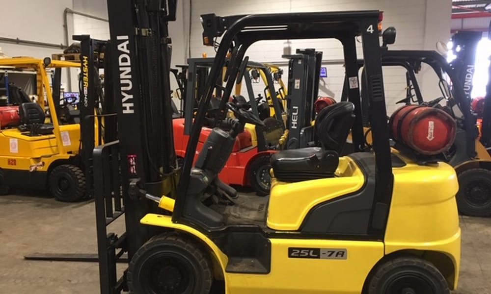 Hyundai Clearance at Scot Truck Forklifts
