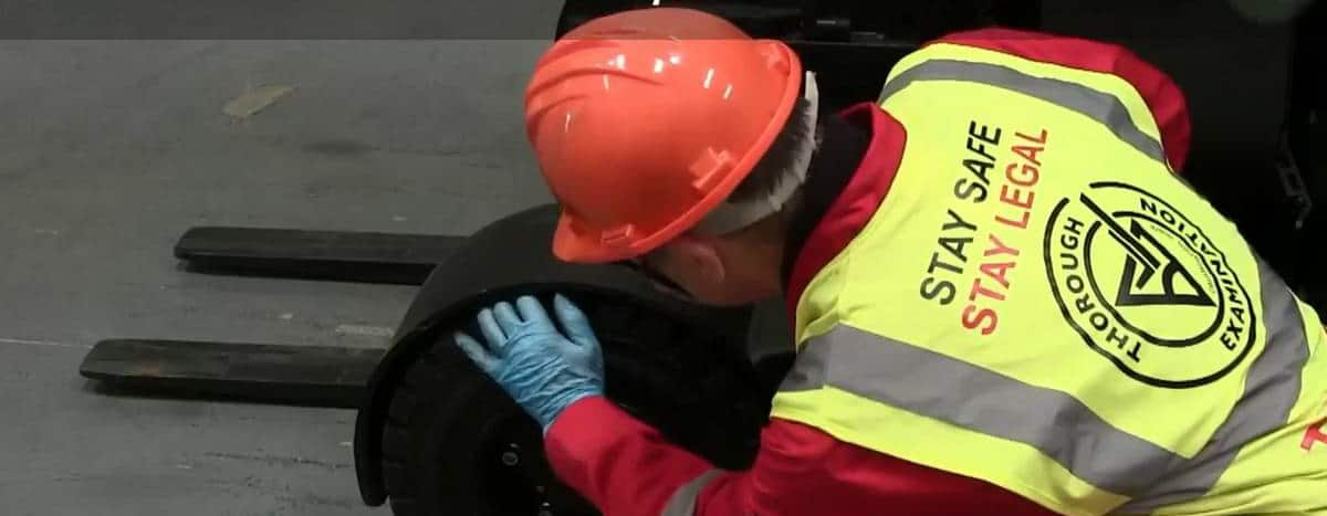 LOLER Examinations from Scot Truck Forklifts
