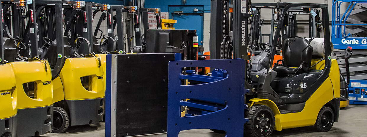 a guide to forklift attachments from Scot Truck Forklifts 1