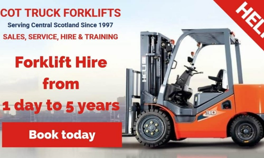 Forklift Hire from Scot Truck Forklifts